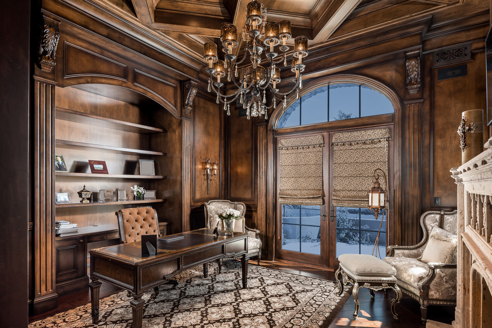 Royal Mediterranean Style Home Office Thewowdecor
