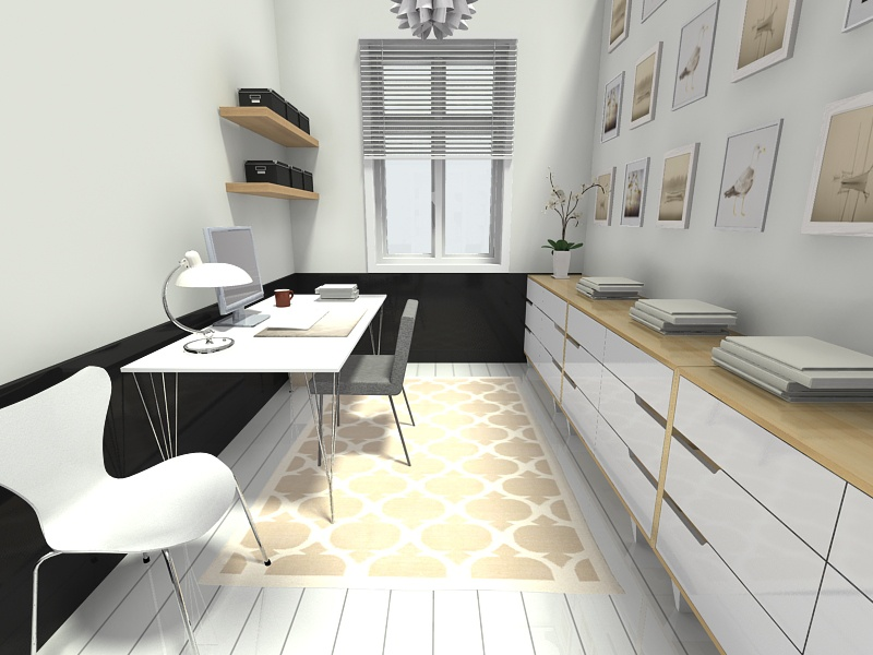 Scandinavian Style Home Office Design Thewowdecor