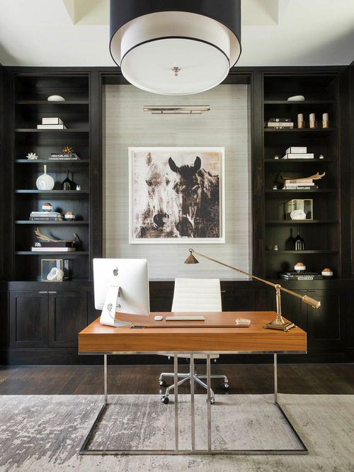 Stunning Contemporary Home Office Design Thewowdecor