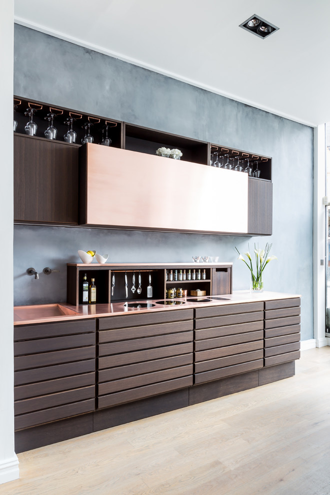 Contemporary Copper Kitchen