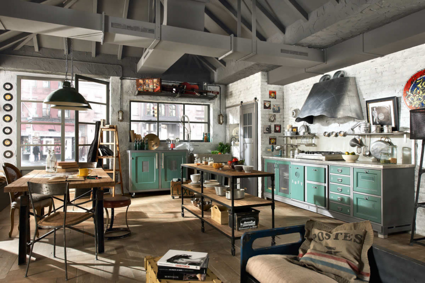 Why you should go for our Industrial Kitchen Design