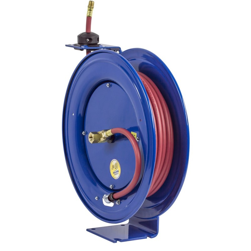 A Garden Hose Reel Provides Safety