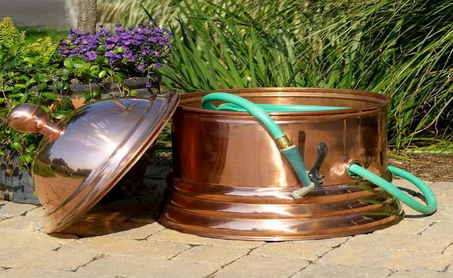Garden Hose Reels Keeps you organized