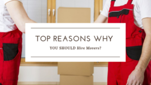 Top Reasons Why You Should Hire Movers?