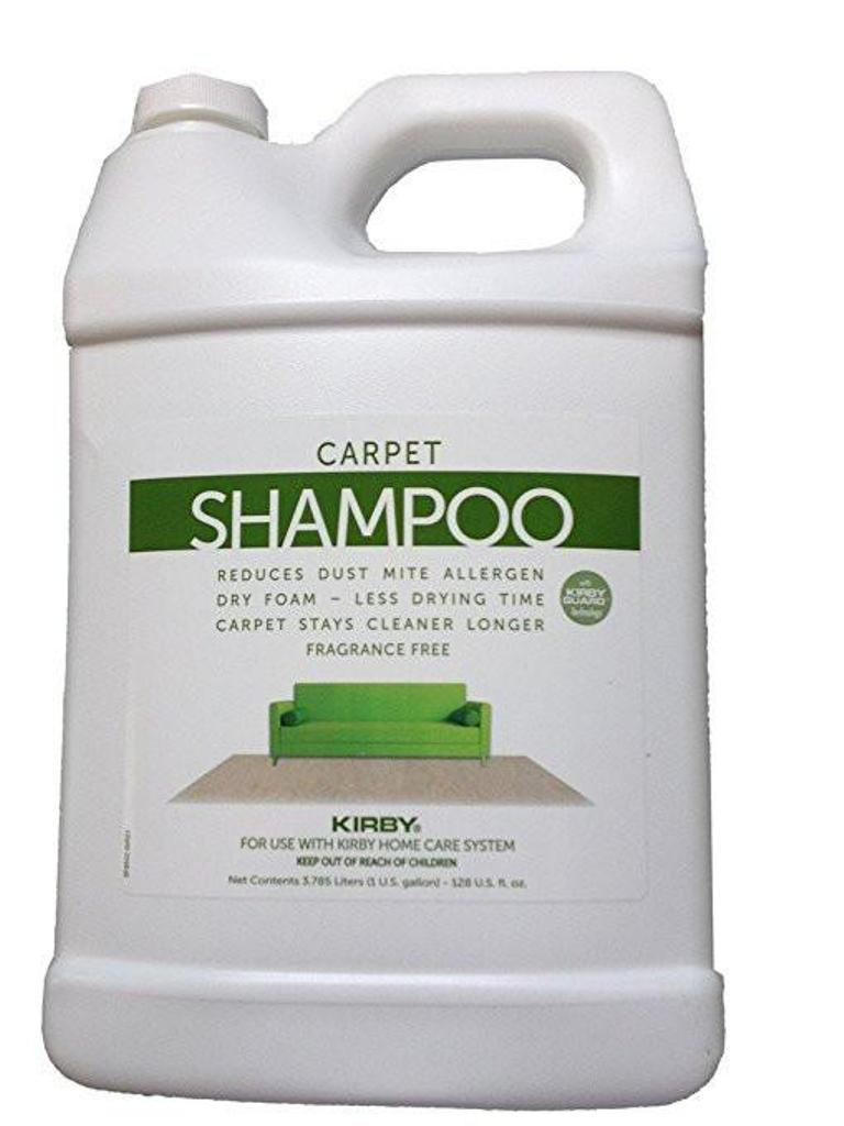 Use a carpet shampoo