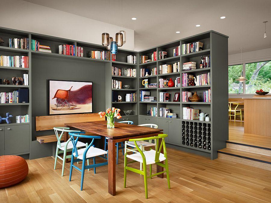 Add bookshelves