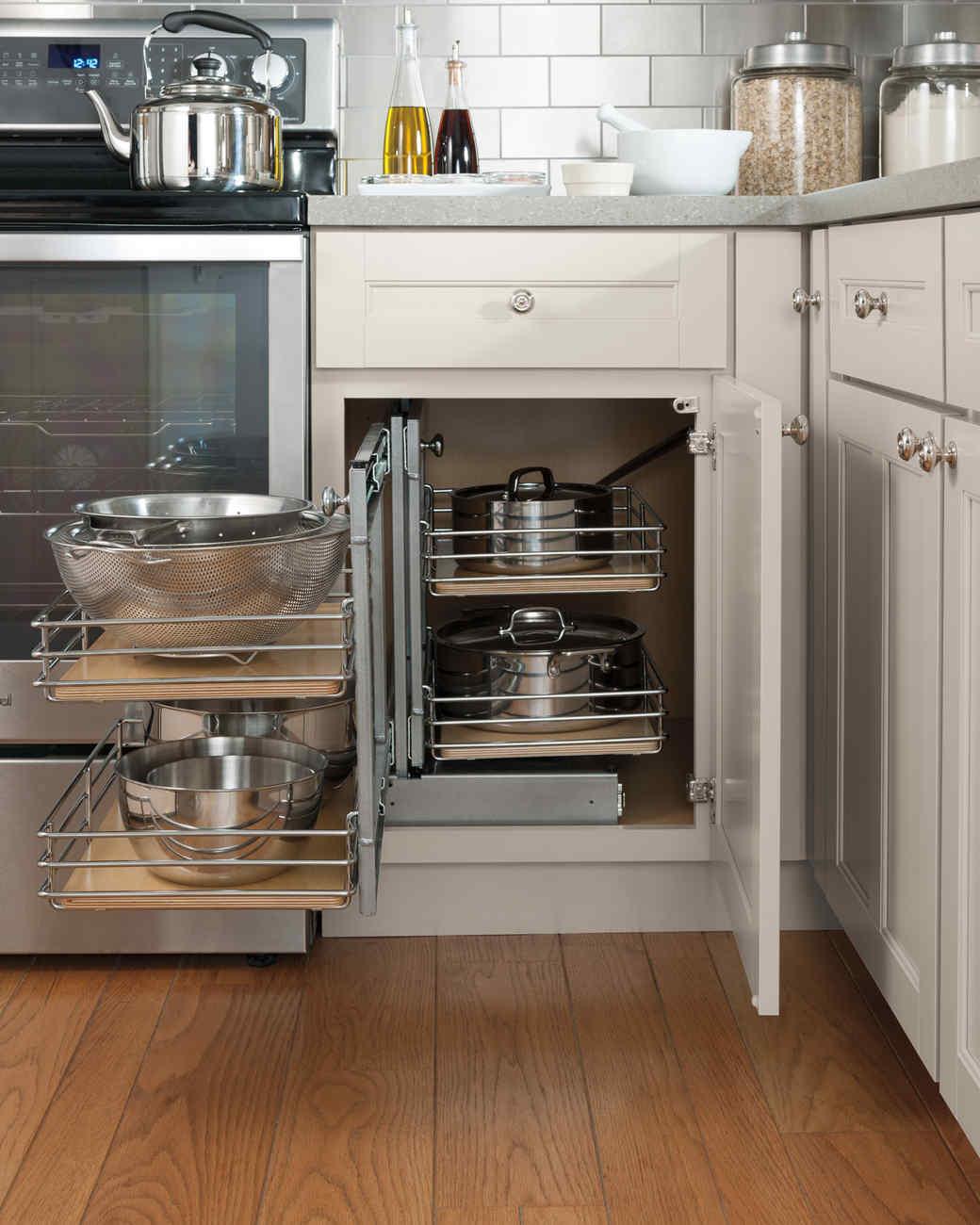 Organizing your kitchen hardware