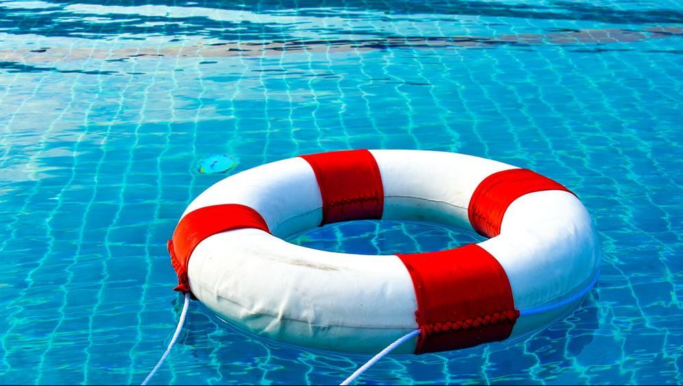 safety of the pool