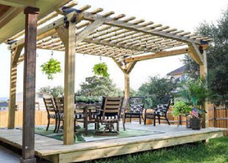 Add style with pergola designs
