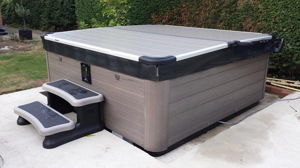 Aluminium spa covers