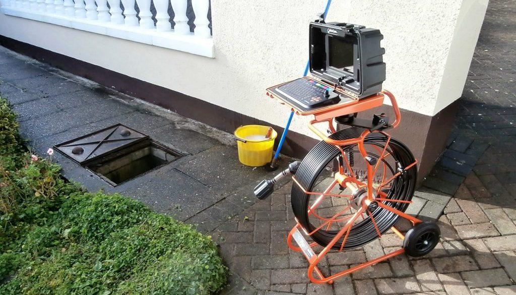 CCTV drain survey services