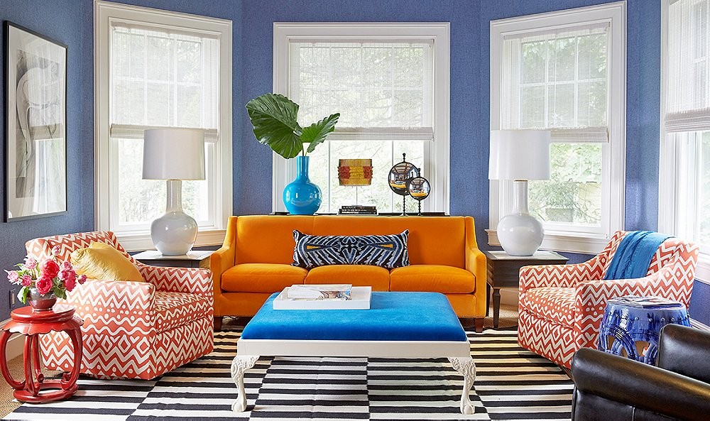 Co-ordinate colour – and be bold