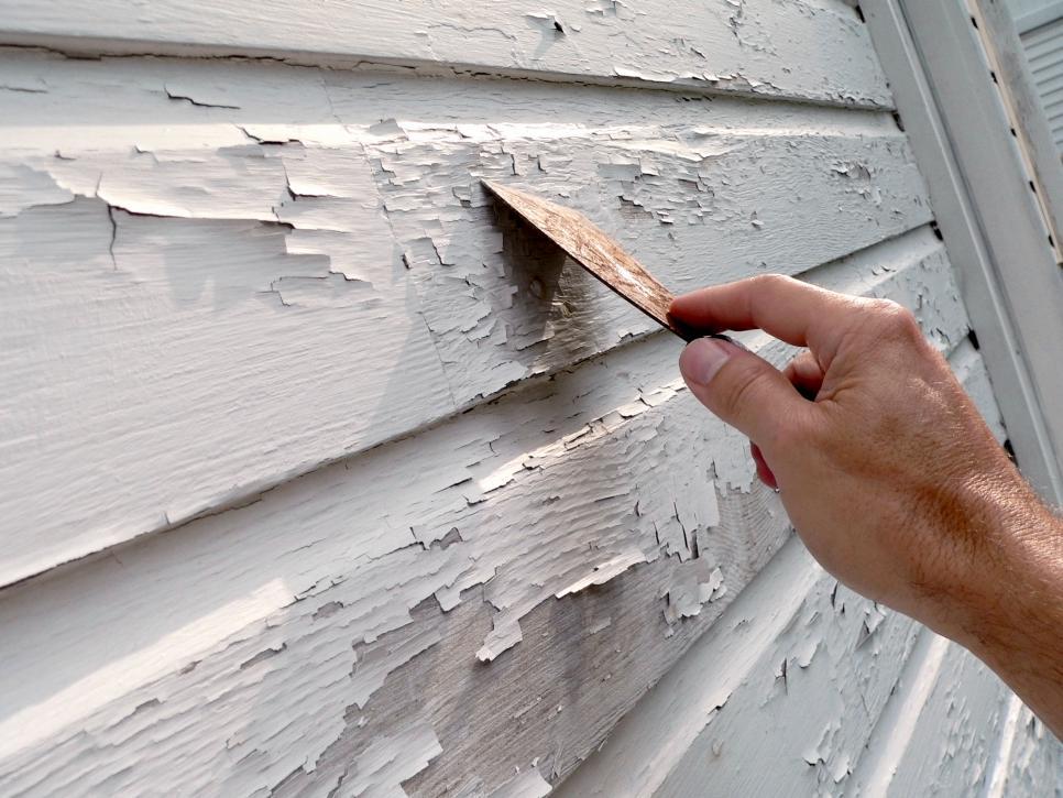 Scrape Old Paint