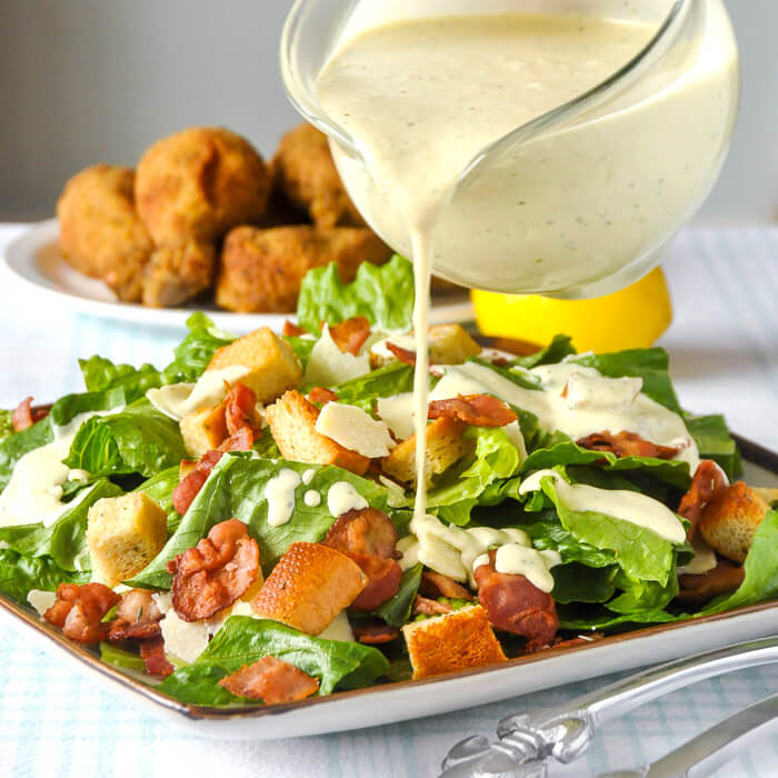 WHAT GOES INTO CAESAR SALAD DRESSING