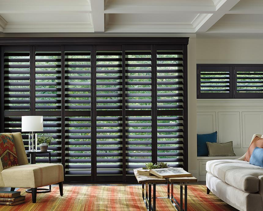 You can also choose shutters
