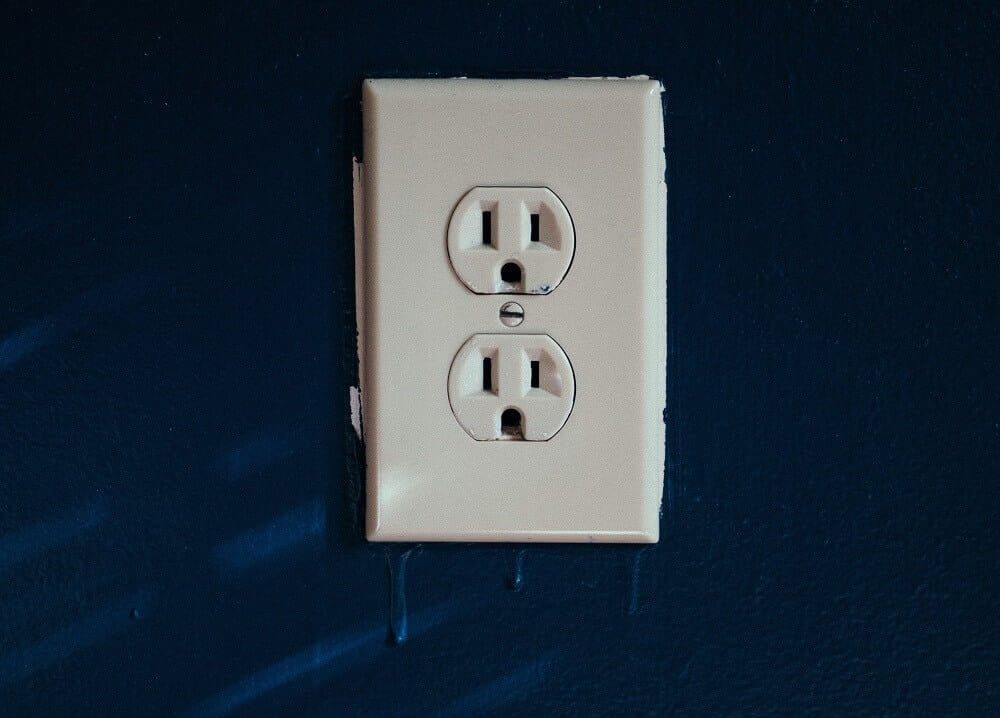 Warm switches or wall outlets