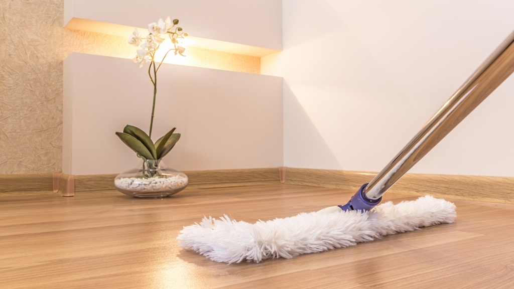 Clean and Polish Flooring Regularly-