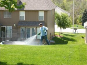 Lawn Improvement With Liquid Aeration