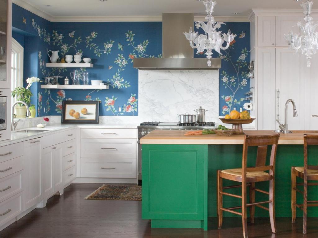 Wall color inKitchen renovation