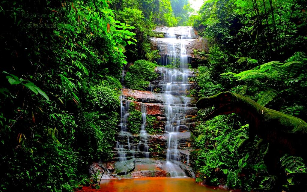 Waterfall Themed Wallpaper