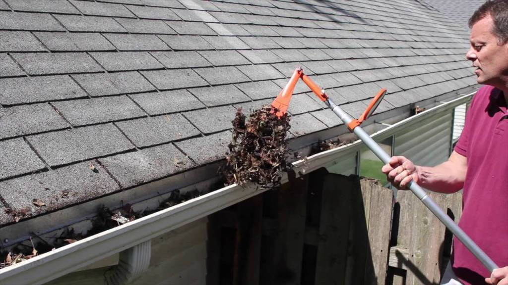 Clean The Roof Gutters