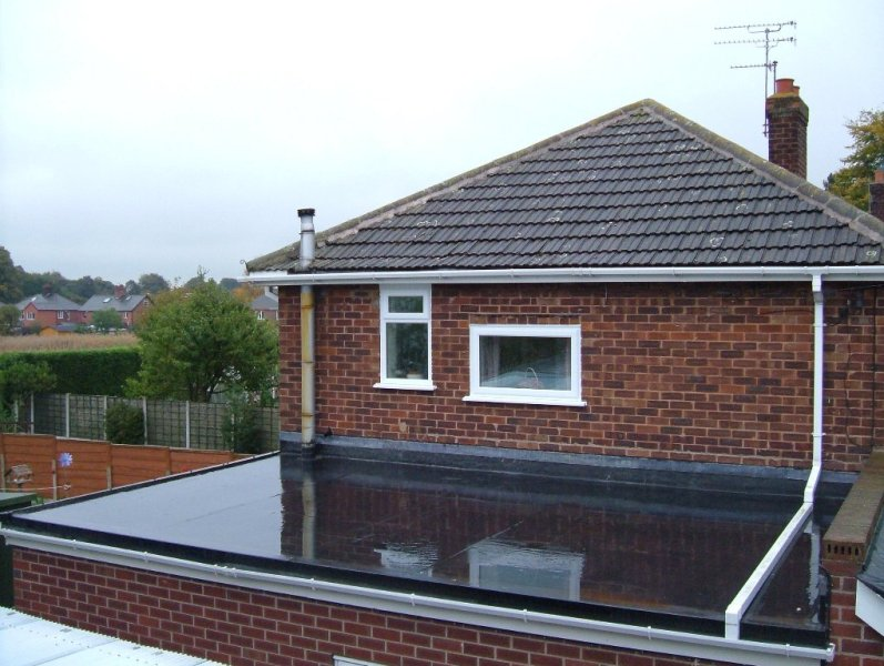 Rubber Roofing and Installation