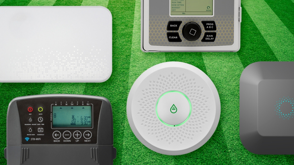 Watering With a Smart Sprinkler System