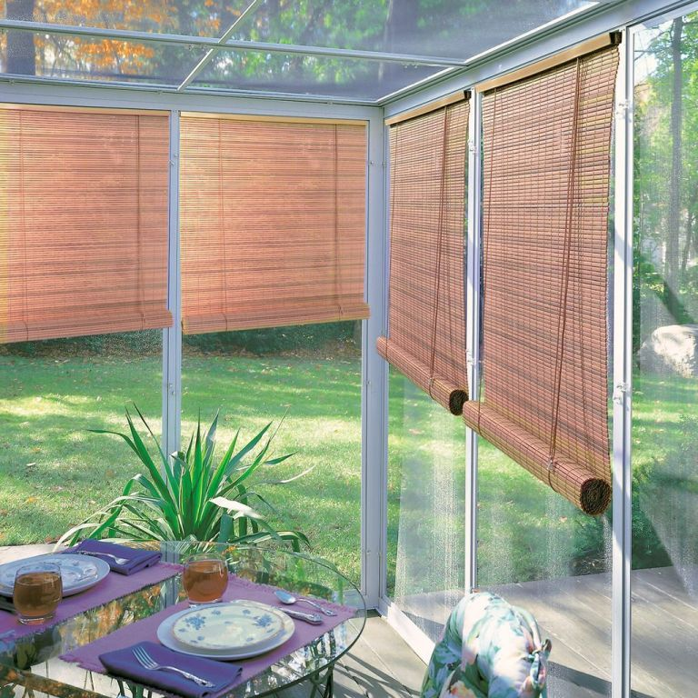 Using Outdoor Blinds for Decor