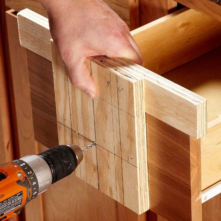 A Conversation about a Cabinet Hardware Jig