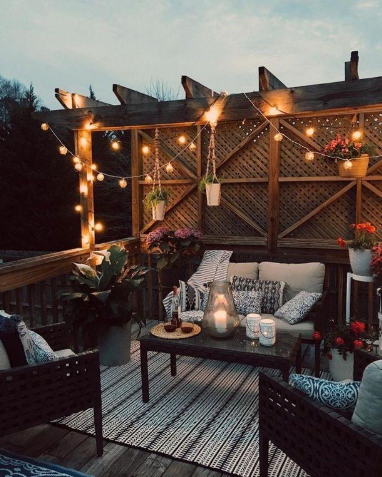 Add some patio furniture