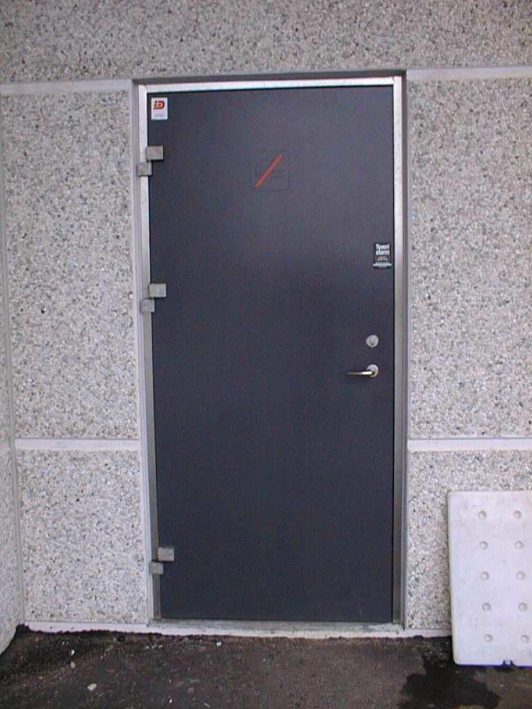 Industrial Metal Door