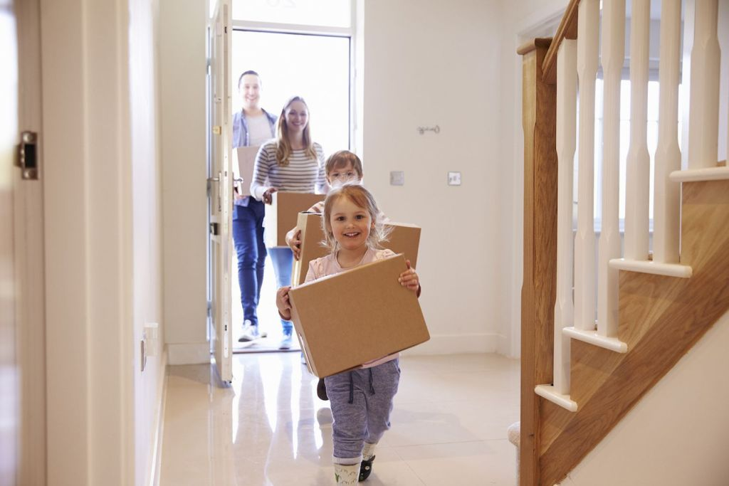 FINDING THE RIGHT HOUSE