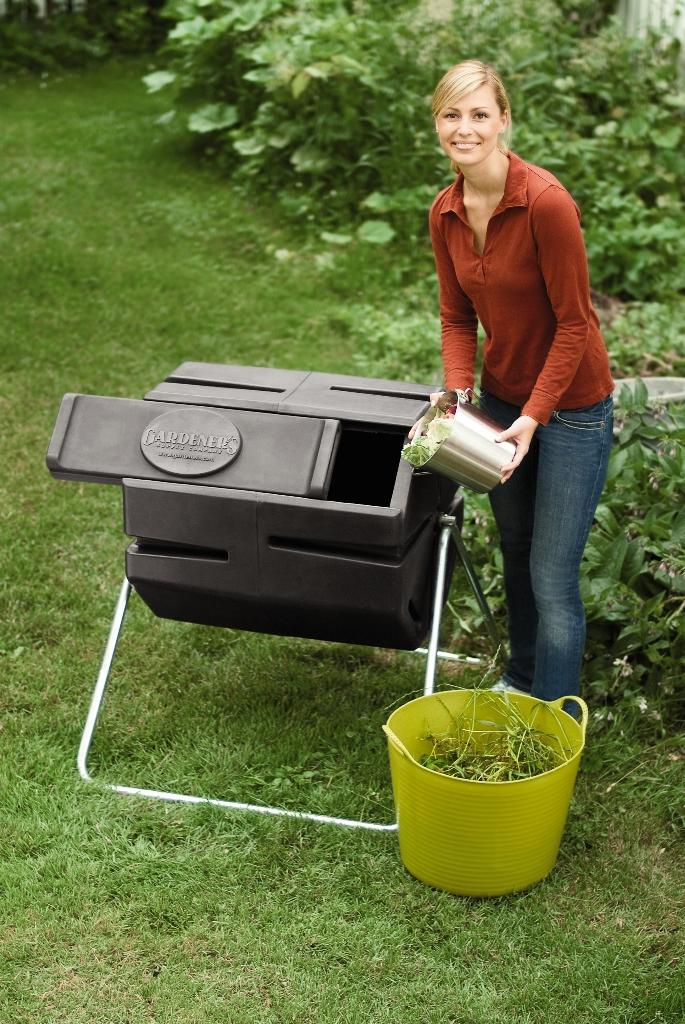 Use a Compost Tumbler