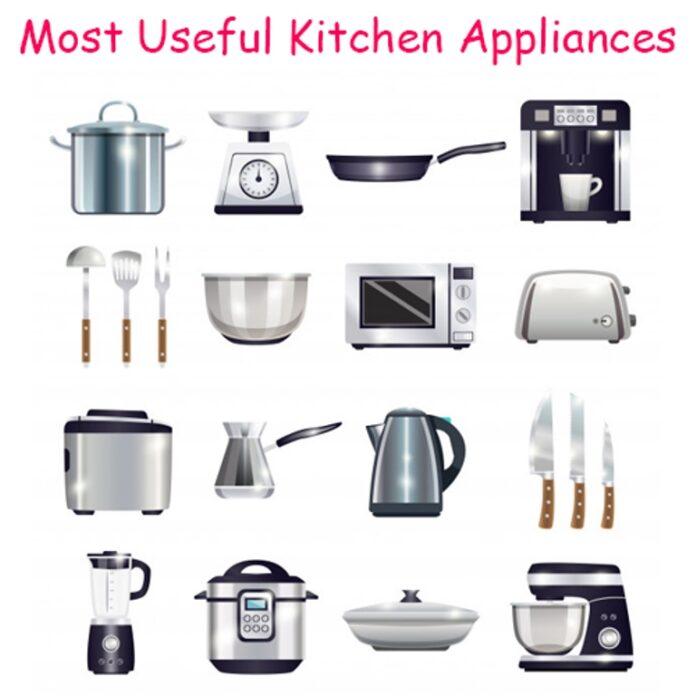 Most Useful Kitchen Appliances · Wow Decor