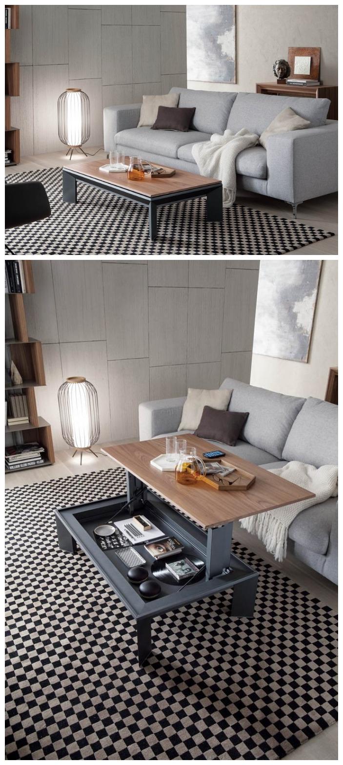 Ozzio Metrino Coffee Table
