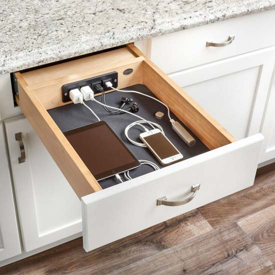 Shelf Charging Drawer