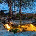 Lighting Up Your Garden Water Feature