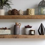 How to Make Long Reclaimed Wood Shelves