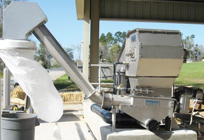Integrated compactor