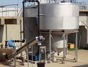 wastewater treatment equipment. grit removal.
