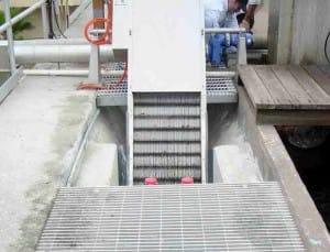 wastewater treatment equipment. wastewater screen