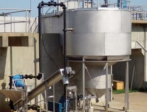 Wastewater screening. grit removal