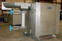 Thresher Shark Washing Machine. Screenings Handling