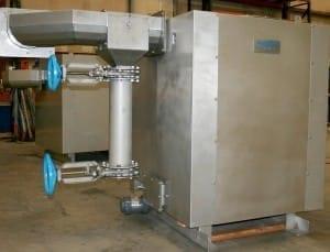 Wastewater screening. municipal wastewater treatment. screenings handling