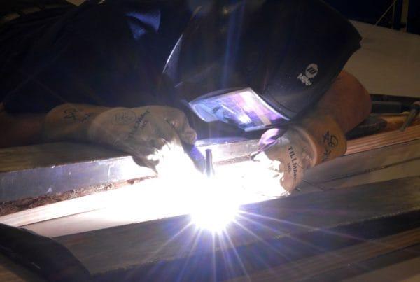 male-welding