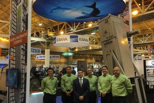 Hydro-Dyne booth at WEFTEC