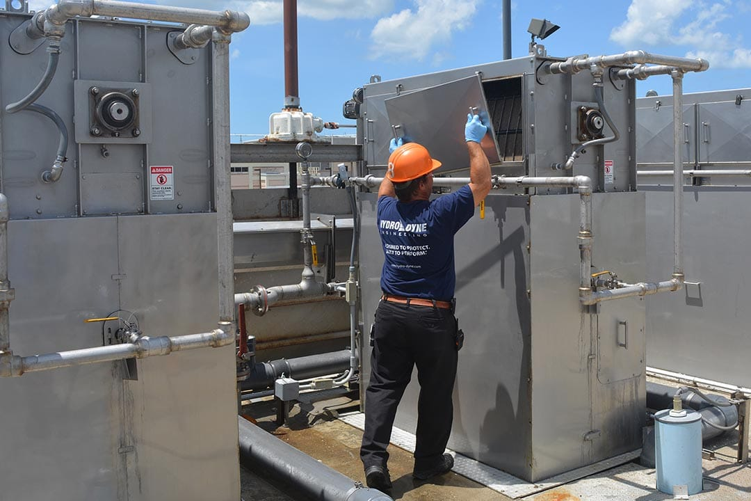 wastewater screen service
