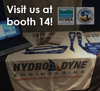 Hydro-Dyne table set up at NYWEA