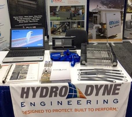 Hydro-Dyne Table set up at SCEC