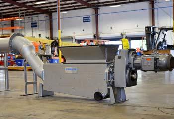 Whitetip Shark Washing Compactor at Hydro-Dyne Facility